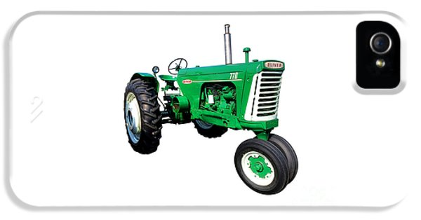 Oliver Tractor iPhone 5 Case - Oliver 770 by Olivier Le Queinec