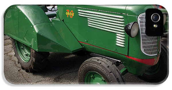 Oliver Tractor iPhone 5 Case - Oliver Grove 70 by Mike Eingle