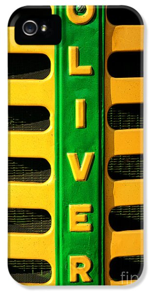 Oliver Tractor iPhone 5 Case - Oliver by Olivier Le Queinec