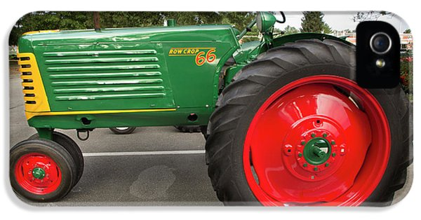 Oliver Tractor iPhone 5 Case - Oliver Row Crop by Mike Eingle