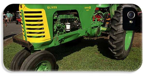 Oliver Tractor iPhone 5 Case - Oliver Super 88 by Mike Eingle