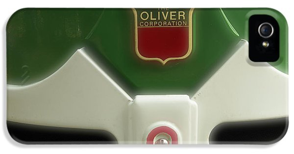 Oliver Tractor iPhone 5 Case - Oliver Tractor Emblem by Mike Eingle