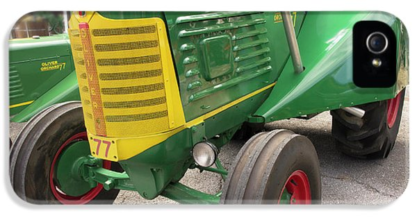 Oliver Tractor iPhone 5 Case - Oliver Tractor by Mike Eingle