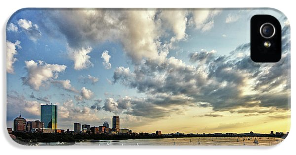 Hancock Building iPhone 5 Case - On The Charles II by Rick Berk