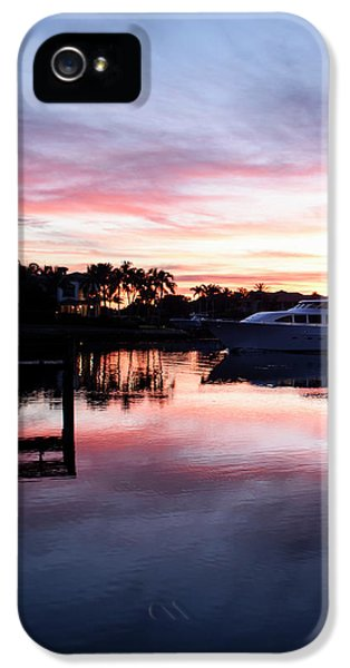 On The Waterfront IPhone 5 Case by Laura Fasulo