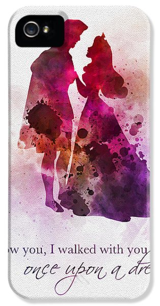 Once Upon A Dream IPhone 5 Case by Rebecca Jenkins