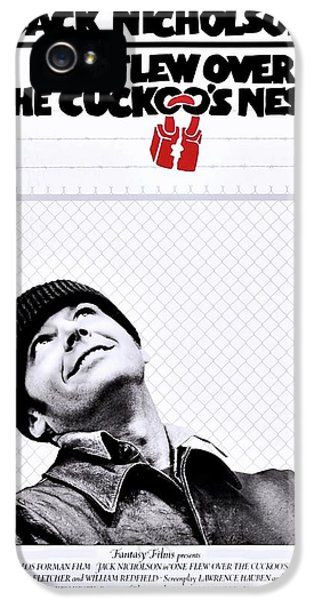 One Flew Over The Cuckoo's Nest IPhone 5 Case by Movie Poster Prints