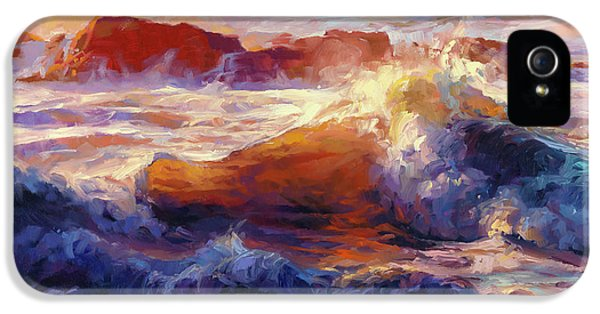 Pacific Ocean iPhone 5 Case - Opalescent Sea by Steve Henderson