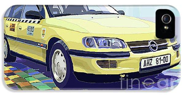 Opel Omega A Caravan Prague Taxi IPhone 5 Case