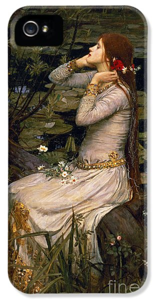 Ophelia IPhone 5 Case by John William Waterhouse
