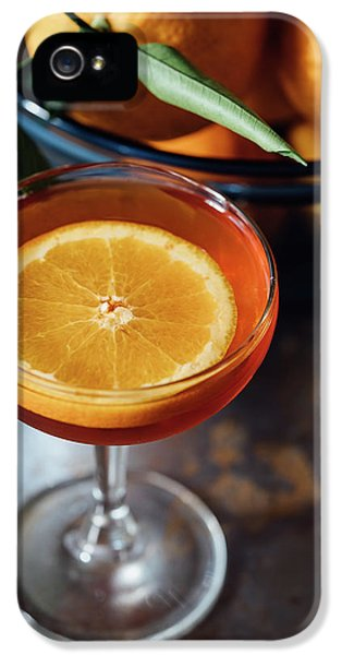 Orange Cocktail IPhone 5 Case by Happy Home Artistry