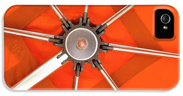 Orange iPhone 5 Case - Orange Umbrella #photography by Juan Silva