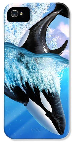 Orca 2 IPhone 5 Case by Jerry LoFaro
