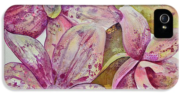 Orchid iPhone 5 Case - Orchid Envy by Shadia Derbyshire