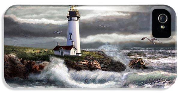 Oregon Lighthouse Beam Of Hope IPhone 5 Case