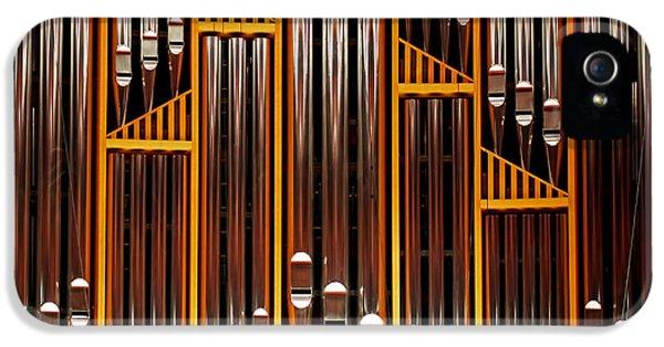 Organ Opus 76 - Philadelphia IPhone 5 / 5s Case by Rona Black