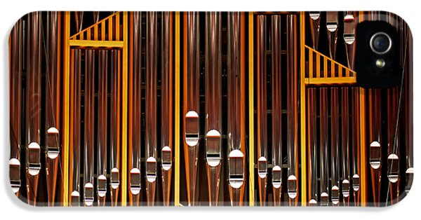 Organ Opus 76 - Philadelphia IPhone 5 Case by Rona Black