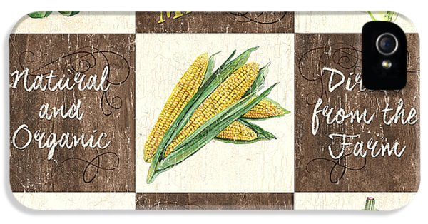 Organic Market Patch IPhone 5 / 5s Case by Debbie DeWitt