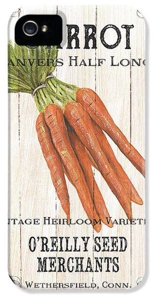 Organic Seed Packet 2 IPhone 5 Case by Debbie DeWitt