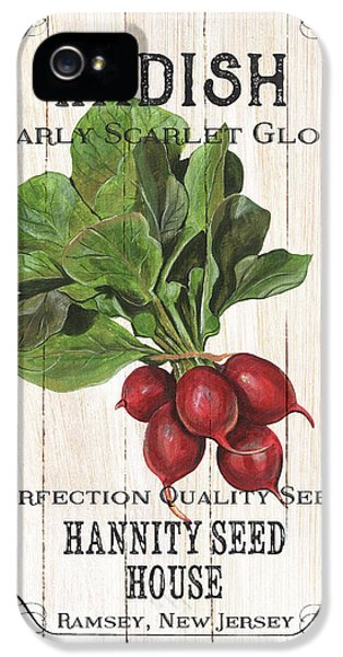 Organic Seed Packet 3 IPhone 5 Case by Debbie DeWitt