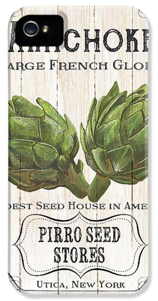 Organic Seed Packets 1 IPhone 5 Case by Debbie DeWitt