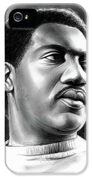 Rhythm And Blues iPhone 5 Case - Otis Redding by Greg Joens