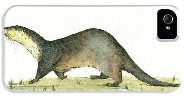 Otter IPhone 5 / 5s Case by Juan Bosco