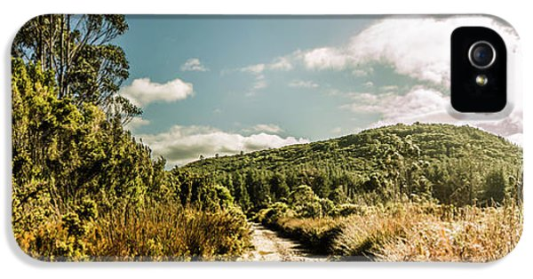 Outback Country Road Panorama IPhone 5 Case by Jorgo Photography - Wall Art Gallery