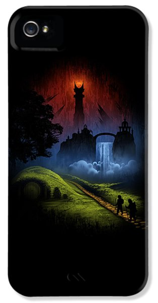 Over The Hill IPhone 5 Case by Alyn Spiller