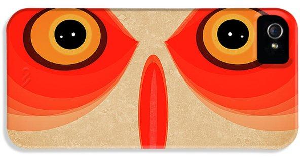 Owl IPhone 5 Case by Johan Lilja