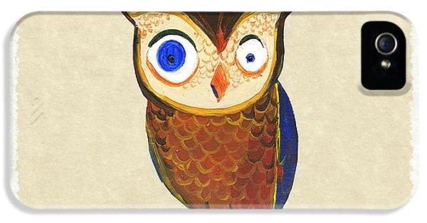 Owl iPhone 5 Case - Owl by Kristina Vardazaryan