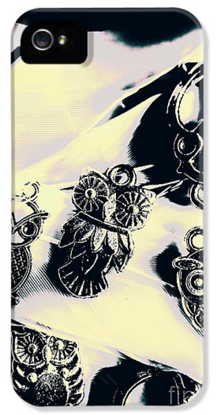 Pendant iPhone 5 Case - Owls From Blue Yonder by Jorgo Photography - Wall Art Gallery