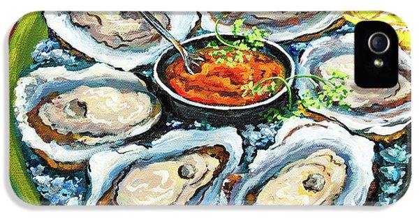 Oysters On The Half Shell IPhone 5 / 5s Case by Dianne Parks