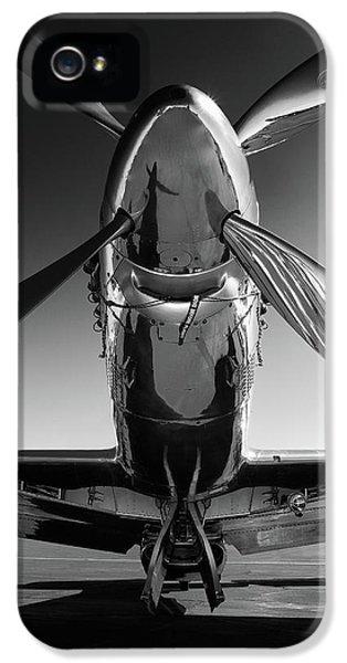 American Landmarks iPhone 5 Case - P-51 Mustang by John Hamlon