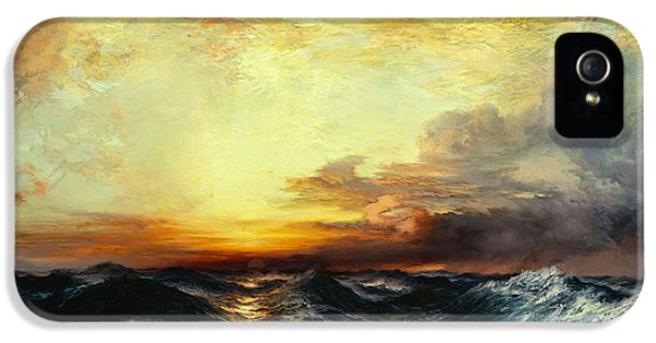 Pacific Sunset IPhone 5 Case by Thomas Moran