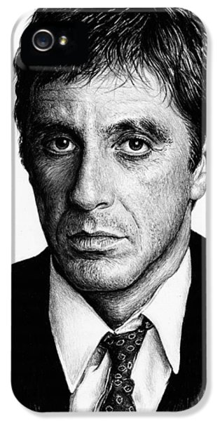 Pacino Scarface IPhone 5 / 5s Case by Andrew Read