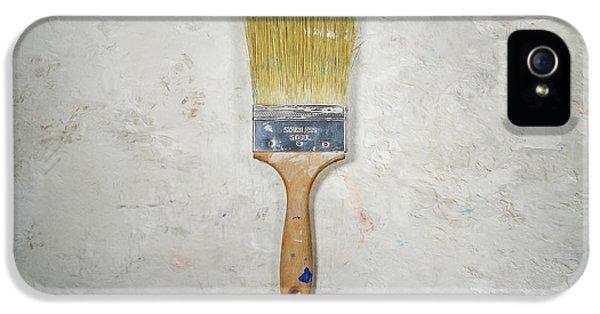 Paint Brush IPhone 5 Case by Scott Norris