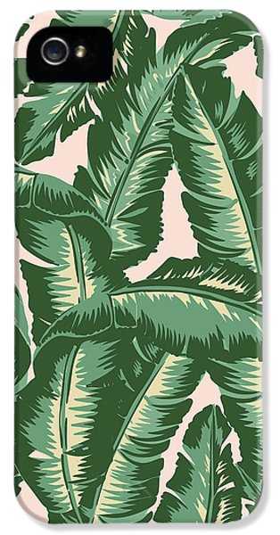 Food And Beverage iPhone 5 Case - Palm Print by Lauren Amelia Hughes