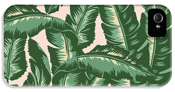 Day iPhone 5 Case - Palm Print by Lauren Amelia Hughes