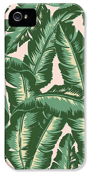 Palm Print IPhone 5 Case by Lauren Amelia Hughes