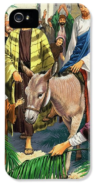 Palm Sunday IPhone 5 Case by Clive Uptton