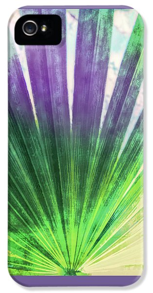 Palmetto Abstract No. 2 IPhone 5 Case by Marvin Spates