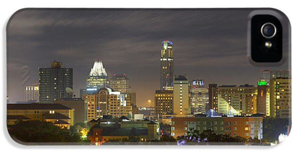 Panorama Of The Austin Skyline On A September Morning IPhone 5 Case