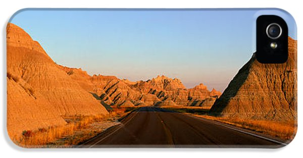 Panoramic View Of Road Going IPhone 5 Case by Panoramic Images