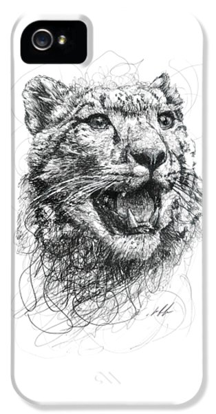 Leopard IPhone 5 Case by Michael Volpicelli