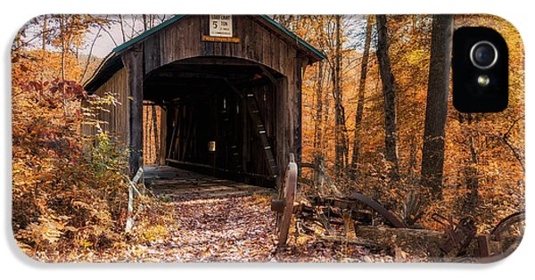 Pappy Hayes Covered Bridge IPhone 5 Case
