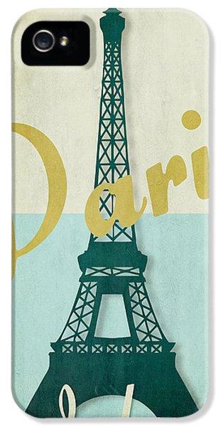 Paris iPhone 5 Case - Paris City Of Light by Mindy Sommers