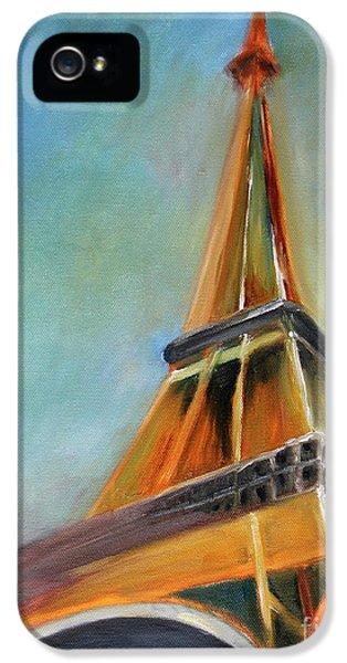 Eiffel Tower iPhone 5 Case - Paris by Jutta Maria Pusl