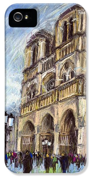 Paris Notre-dame De Paris IPhone 5 Case