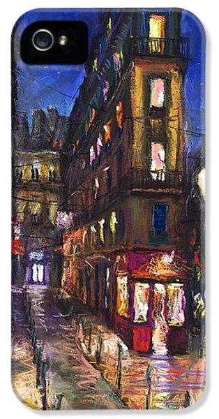 Paris Old Street IPhone 5 Case by Yuriy  Shevchuk
